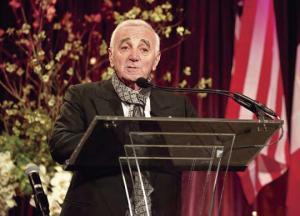 Singer Charles Aznavour