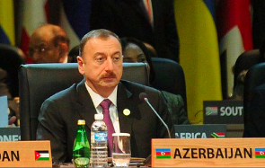 Azeri President Ilham Aliyev