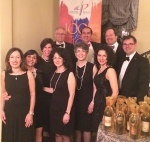 Photo Caption: Bay Area Paros Committee members (left to right) Julie Kulhanjian Strauch, Suzanna Cogswell, Wendi Moradian, Laura Conrow, Bryan Agbabian, Martha Missirlian, Rick Moradian, Valina Agbabian, Roger Strauch and Michael Perry (not present, Rita Kablanian.)