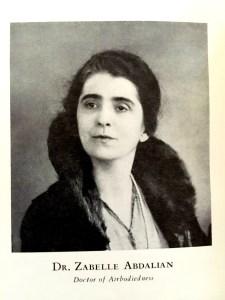Zabelle Abdalian
