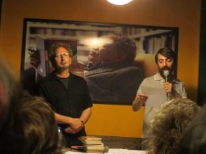 Peter Balakian and Tawa Nemir at the reading