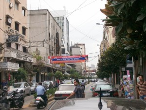 Street scene from Bourj Hammoud