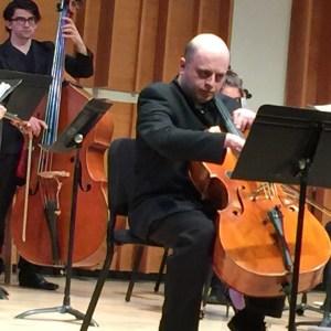Cellist Alexander Chaushian