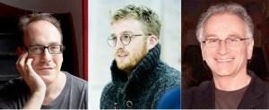ADAA 2016 Honorary Jury (L-R): Neil McPherson, Rob Drummer, Simon Levy