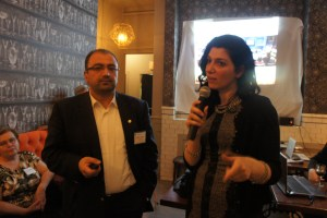 Armenian Business Network's Karina Demurchyan introduces Dr. Vardan Urutyan
