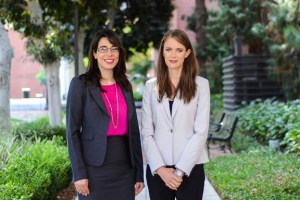 Nora Ayanian (left) and Kelly Sanders  (Photo: Peter Shin)