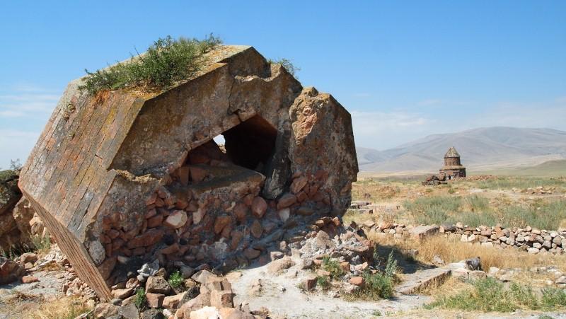 Ani, Kars, Turquía, Turkey, fallen ruin