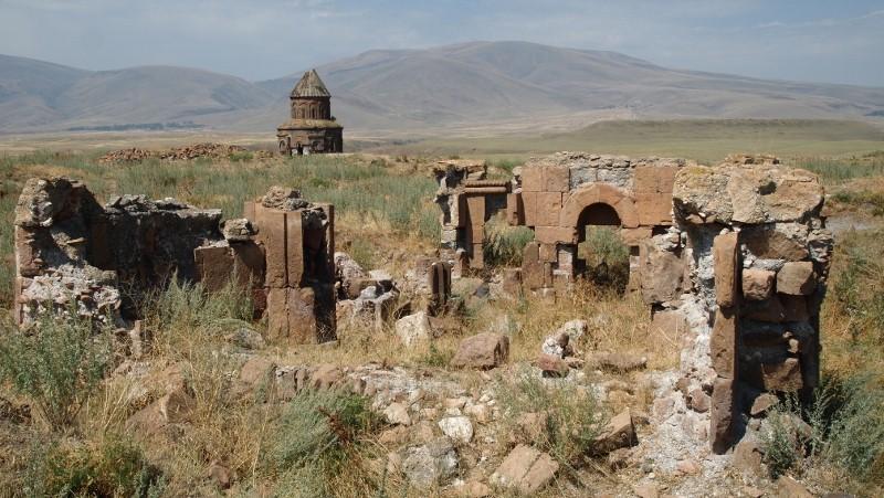 Ani, Kars, Turquía, Turkey, overivew, areminan capital