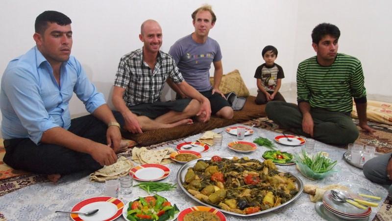 Iraq, Irak, kudistan, food, comida, familia, family
