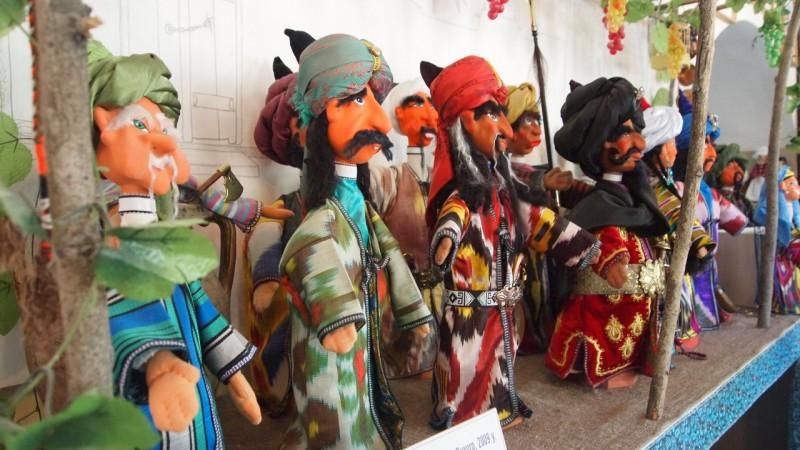 PA093902  Uzbequistan, Bukhara, Central Asia, silk road, ruta seda, marionetas, puppets