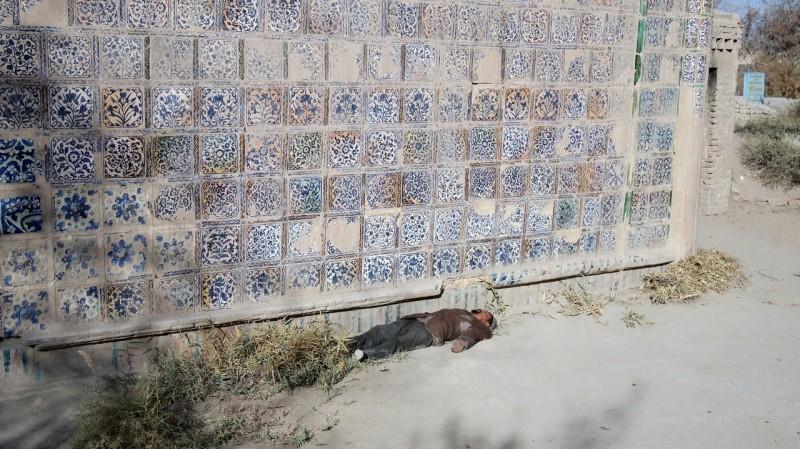 China, taklamakan, desierto, desert, Khotan, Turphan, Yarklan PB135455