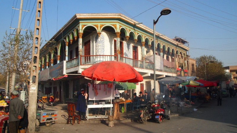 PB105202  Kashgar, Xinjiang, silk road, ruta seda, oasis, Uygur