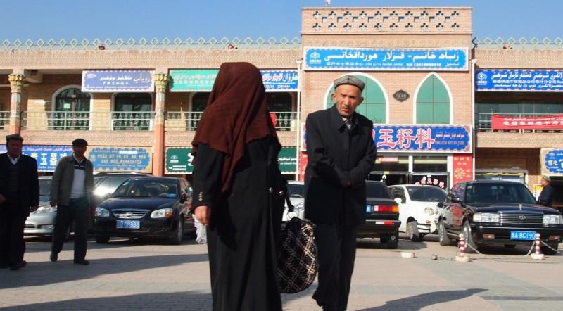 PB125419  Kashgar, Xinjiang, silk road, ruta seda, oasis, Uygur