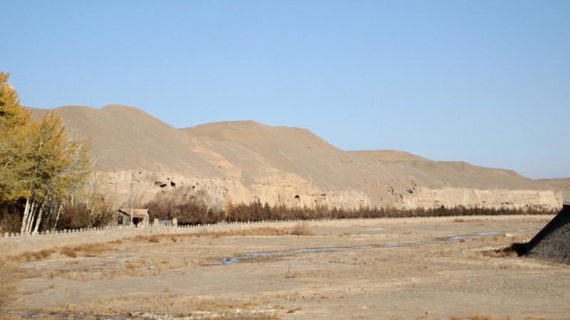 PB195976 China, Dunhuang, Mogao, caves, cuevas, silk road, silk route, ruta seda, cave 17