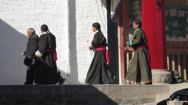 PB216051 Labrang, Xiahe, Buddish, monasterio, monastery, Tibet, China