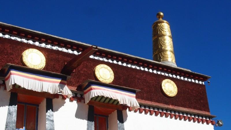 PB216103 Labrang, Xiahe, Buddish, monasterio, monastery, Tibet, China