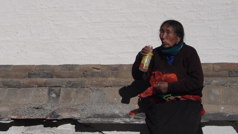 PB216124 Labrang, Xiahe, Buddish, monasterio, monastery, Tibet, China