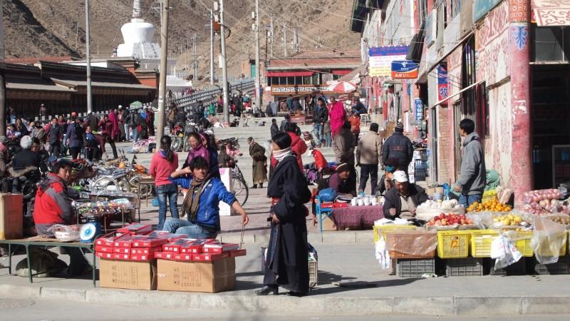 PB216194 Labrang, Xiahe, Buddish, monasterio, monastery, Tibet, China