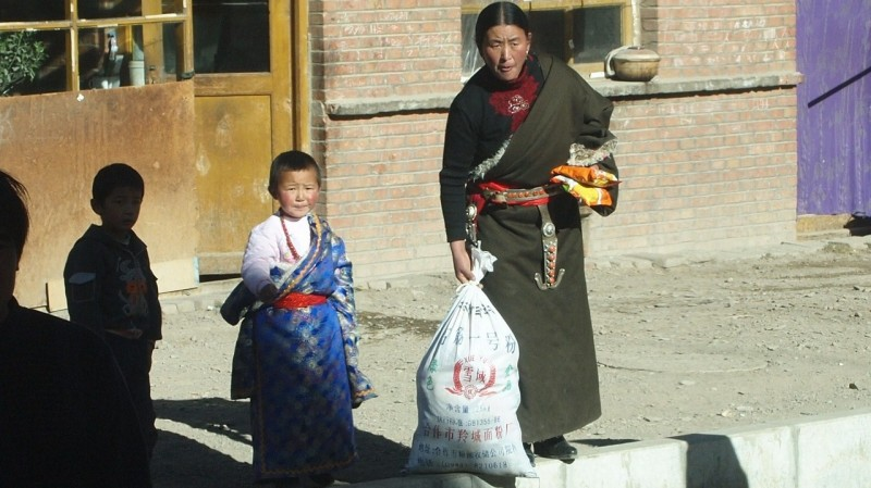 PB216230 Labrang, Xiahe, Buddish, monasterio, monastery, Tibet, China
