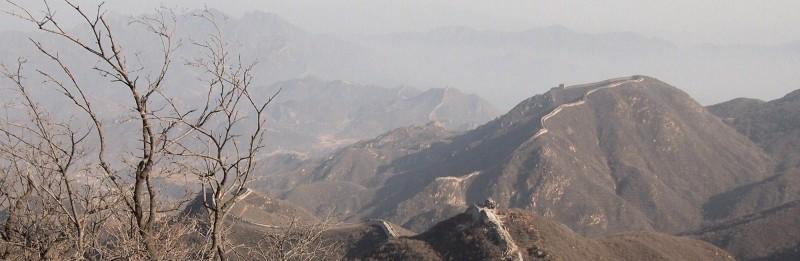 PB306717 China, gran muralla, great wall, Badaling