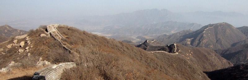 PB306729 China, gran muralla, great wall, Badaling
