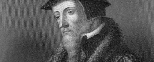 Abaixo João Calvino!