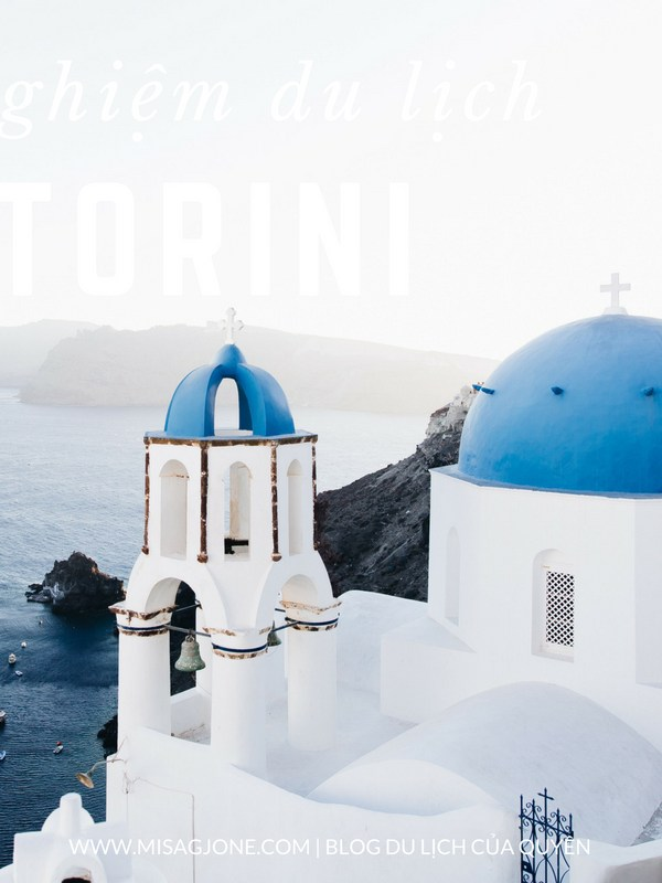 Kinh nghiệm du lịch Santorini 03 ngày