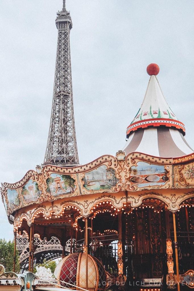 Kinh nghiệm du lịch Paris tự túc 01