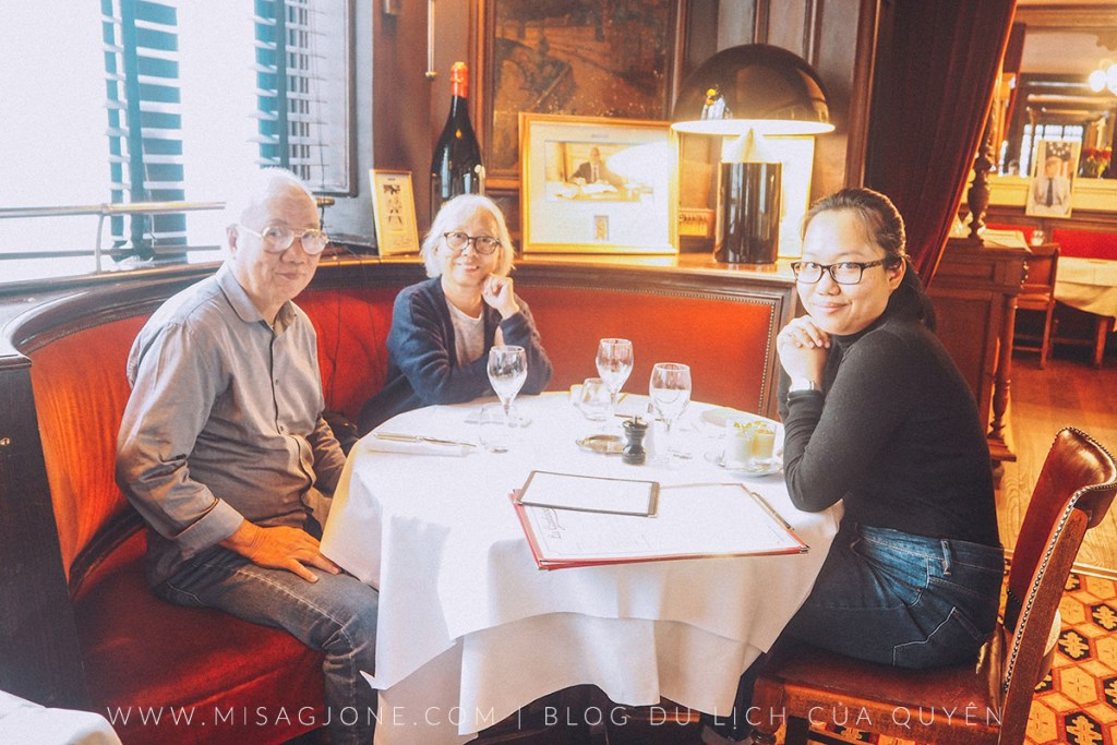 Review nhà hàng La Gauloise 01