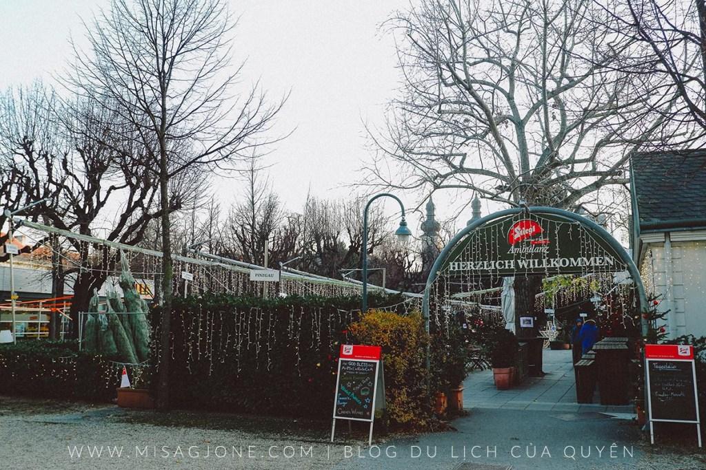Chợ Giáng Sinh Weihnachsdorf 01