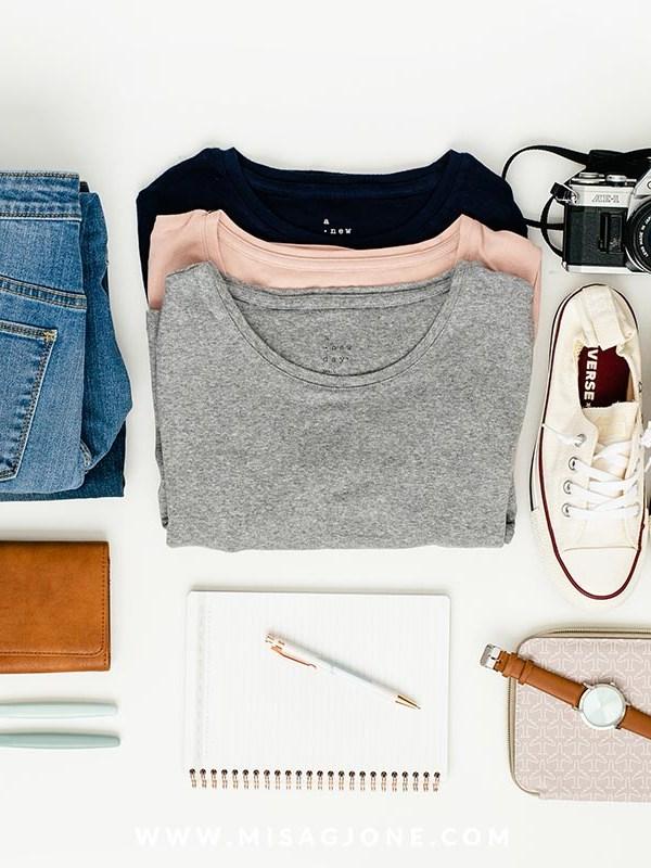 Đi kiểu Travelling Kat: Gói đồ trong nửa giờ + checklist FREE!