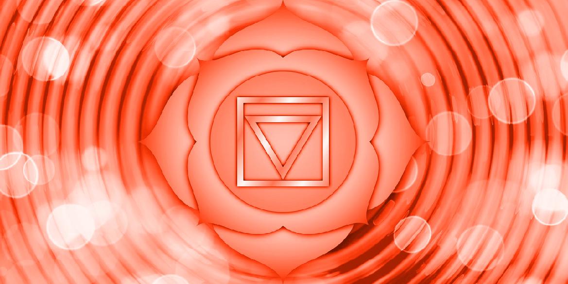 Illustration du chakra racine