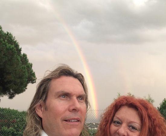Nuria Lopez yPere Pascuet arco iris 3