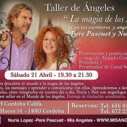 Taller ángeles de los angeólogos Nuria Lopez y Pere Pascuet