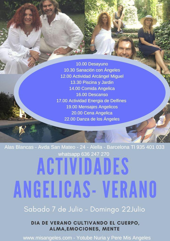 Actividades Angelicas Verano