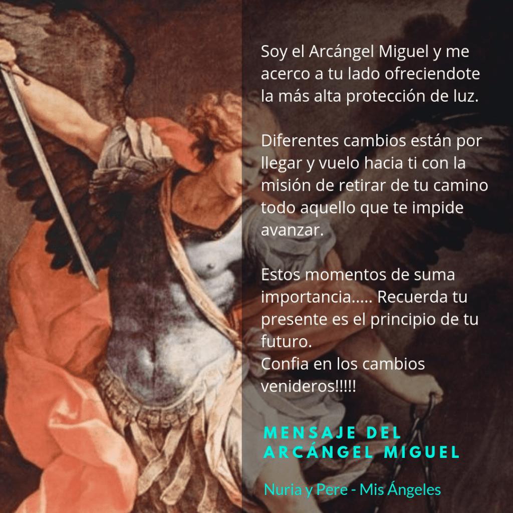 Mensaje del Arcángel Miguel