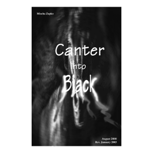 Canter into Black_cover