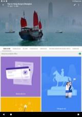 Die Übersichtsseite zum Hongkong-Teil