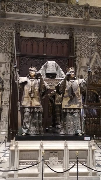 Das Grab von Kolumbus