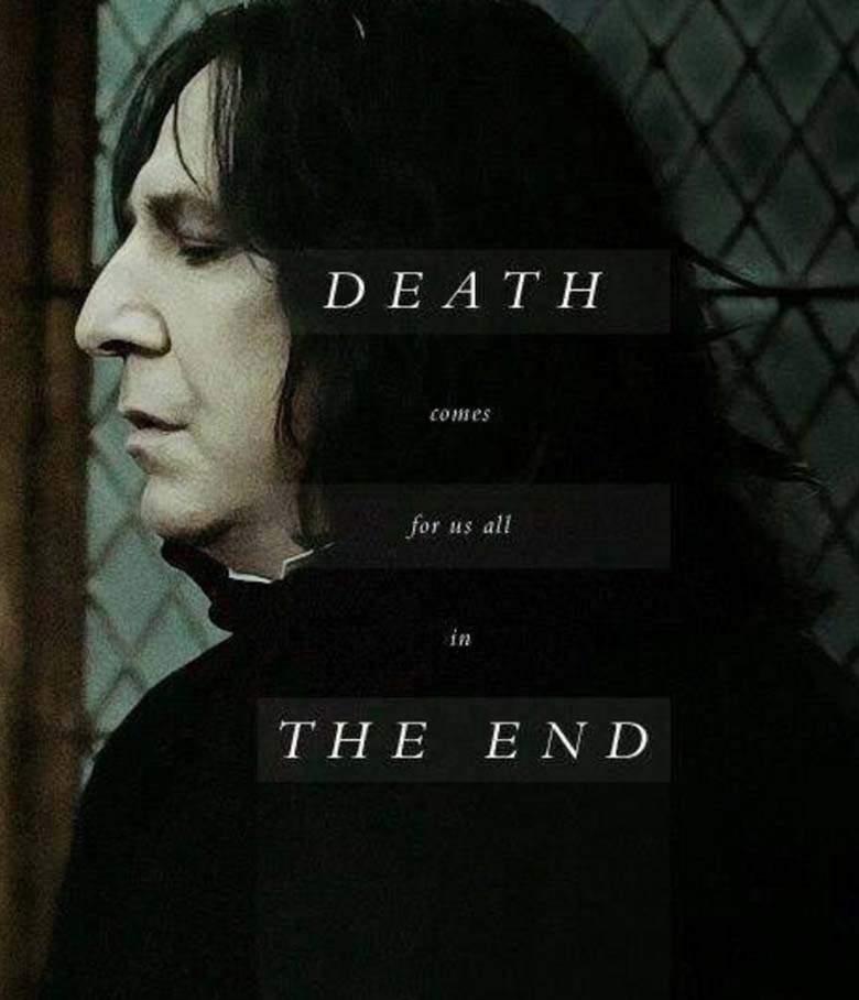 RIP Snape