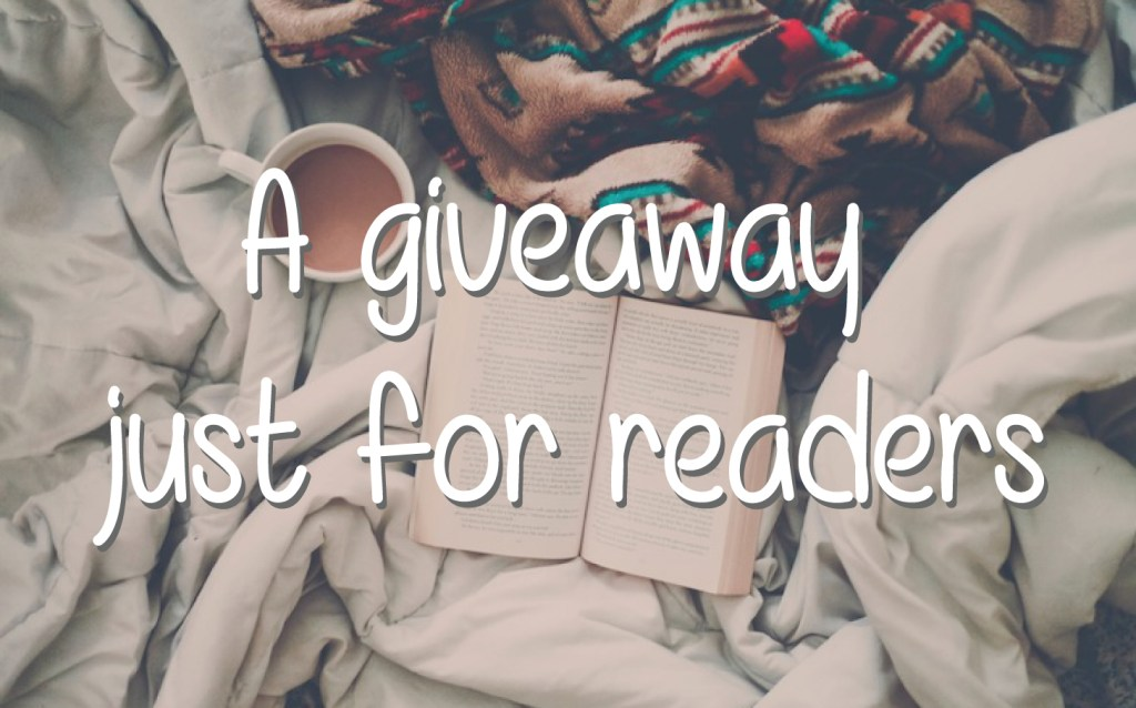 a giveaway for book lovers