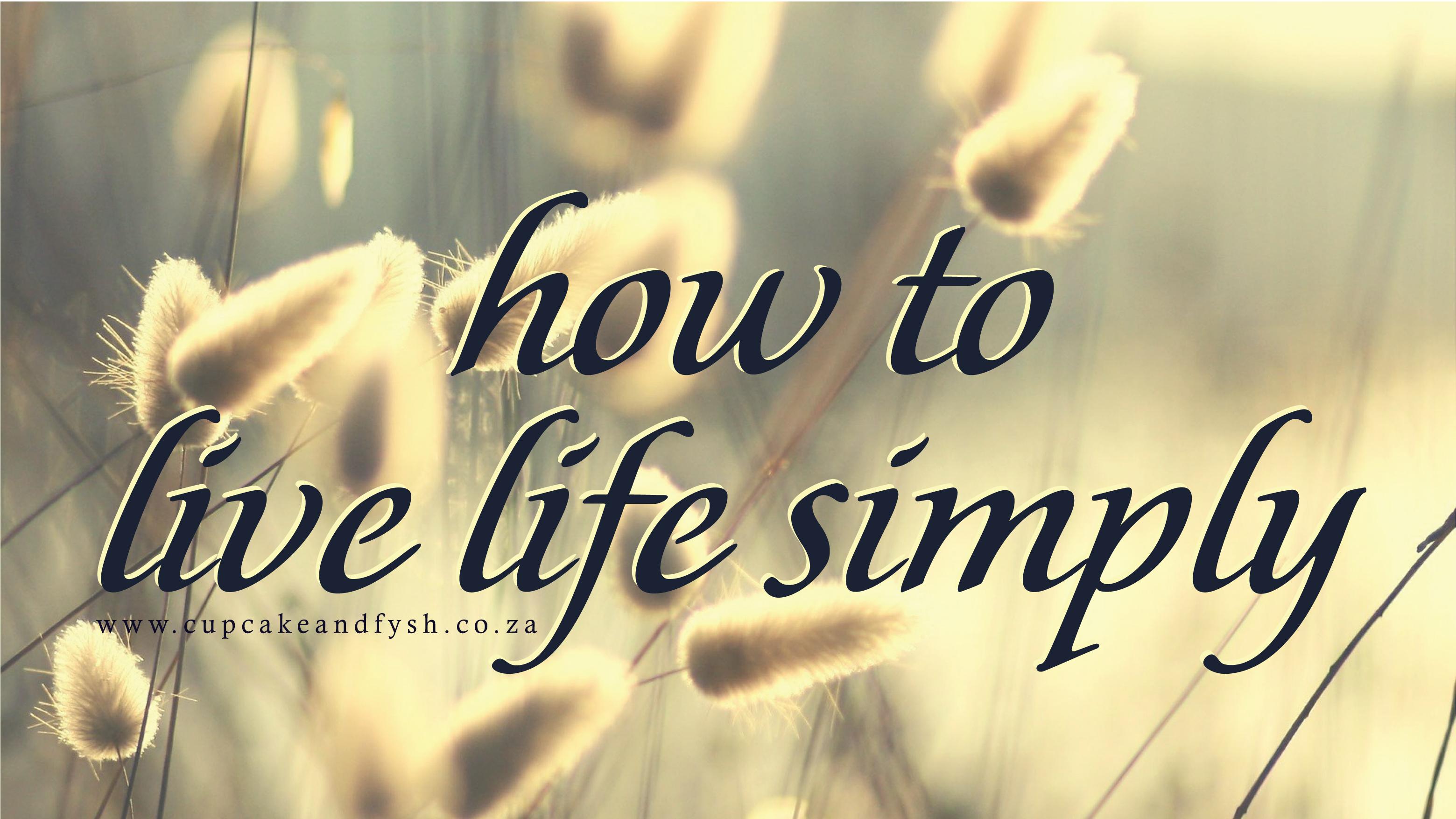 The secret to life – condensed version