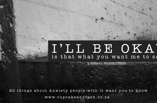 20 things about Anxiety people with it want you to know