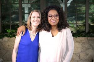 Gretchen Rubin meets Oprah