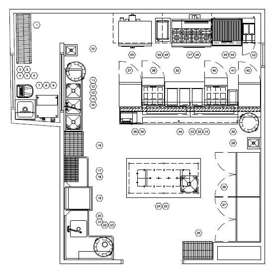 Restaurant Kitchen Layout Approach Part 1