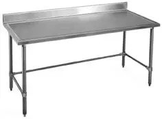 commercial kitchen worktables marine edge