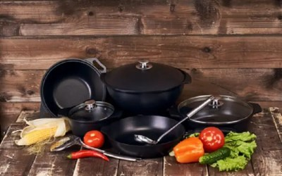 Restaurant Kitchen Stovetop Cookware