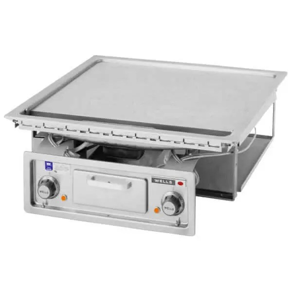 built in type commercial teppanyaki griddle