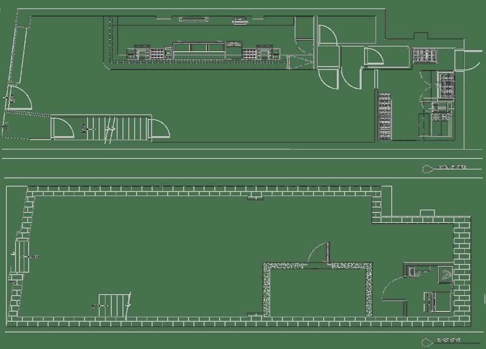 Crossbar Tavern Project restaurant kitchen design floorplan