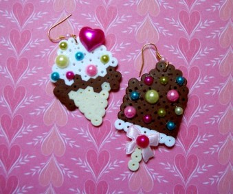 dessert duo earrings